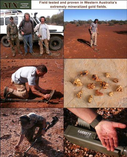 Garrett ATX Australian Field Testing